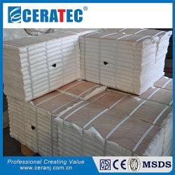 Module de fibre de céramique de silicate d'aluminium plié par une couverture