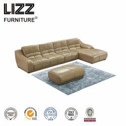 Удобными шезлонгами с кожаным диваном Lz993