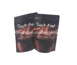 Venta de café caliente SPA exfoliante corporal con paquete personalizado