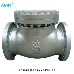 En acier au carbone de 2 pouces Stellite disque overlay 150lbs Clapet antiretour de pivotement RF à embase