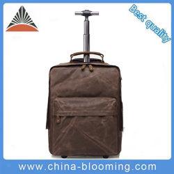 Mens BAGAGES Sac à dos en toile imperméable multifonction Bussiness Trolley sacs pour ordinateur portable