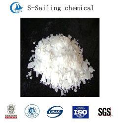 Hydroxyde de sodium de grade alimentaire alcalins de flocons de flocon de 99 % 98 % de la soude caustique 96% prix