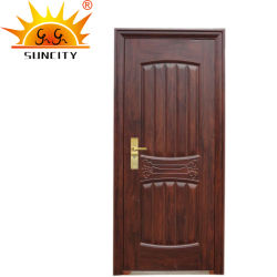 強いセキュリティの振動前部外部の鋼鉄安全ドアをカスタム設計しなさい