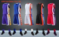 Pullover su ordinazione di vendita caldo 2020 di pallacanestro di sublimazione delle uniformi di pallacanestro impostato