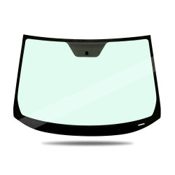 Automobillamellierte vordere Glaswindschutzscheibe befestigt für BMW