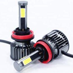 Gt1 12V Voiture projecteur à LED 4 Face H8 H9 ampoules de lumière LED H11 6500 Super Bright