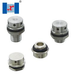 Metal Hnx / Aço inoxidável cobre alumínio / / Válvula aerada de Nylon