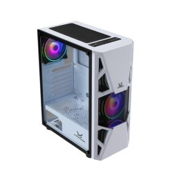 2020 Nuevo diseño y delicadas Hot-Sale ATX Gaming Ordenador PC en caso de los juegos de RGB Diseño de malla de acero