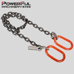 G80/G100または2本か3本か4本の足の貨物持ち上がることのための調節可能なチェーン吊り鎖は選抜する