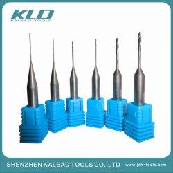 歯科装置CAD/CCAMに使用する歯科ツールDia 1.0*18*D6*60および歯科端製造所およびジルコニアの総義歯のツールに塗るCVDのダイヤモンド