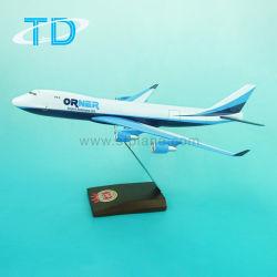 ModelVliegtuigen ModelBoeing 747-400f van de Schaal van de hars de Met de hand gemaakte Decoratieve