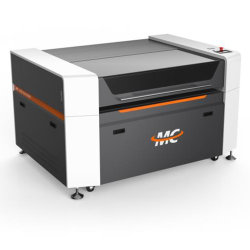 150 واط 1390 أكريليك خشب ثاني أكسيد الكربون آلة قطع بالليزر لمدة مواد التعبئة الإعلانية