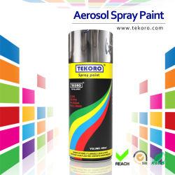 Efecto de cromo de la pintura de aerosol