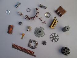 Micro métalliques du moteur