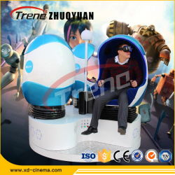 360 градусов вращения виртуальной реальности 9d яйцо стул Cinema 9d-Vr парк развлечений на