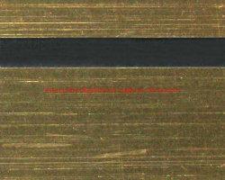 1.3 mm Stocks ロータリおよびレーザーブラシ付きゴールド / ブラック ABS シート( 600 * 1200mm )