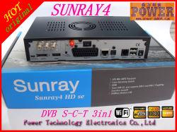 Тройной тюнер Sunraydm800se Linux ресивер Sunray4 Sr4