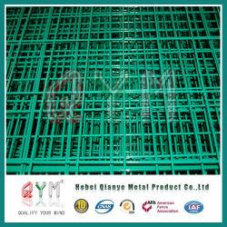 PVC コーティングユーロフェンス / スチールユーロフェンスパネル / ユーロ溶接ロールフェンス