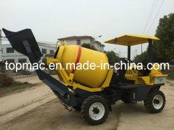 Auto che carica betoniera mobile