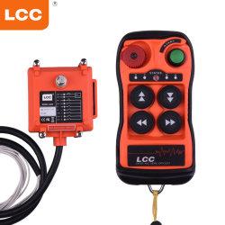 Tasten Q400 4 sondern Geschwindigkeits-industrieller Kran-Radio-drahtloses Fernsteuerungs aus