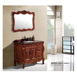 Cuarto de baño pequeño Pedestal Gabinete solo blanco antiguo vanidad