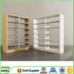 Scaffale d'acciaio moderno dell'ufficio della mensola aperta dei lati del doppio/scaffale del metallo/scaffale delle biblioteche
