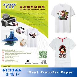 Couleur du voyant de la chaleur Presse Papier pour imprimante Ink-Jet approprié