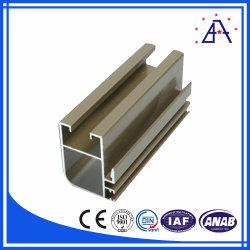 6063-T5 en aluminium recouvert d'alimentation des profils personnalisés