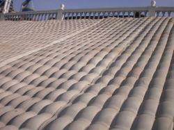 De stof vormde de Concrete Matras van het Revêtement