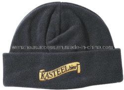 Fleec Polaire doux chaleureux Beanie Hat avec broderie