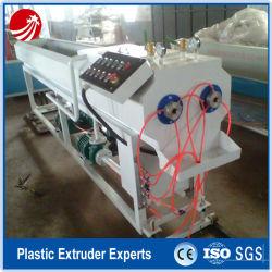 PVC de doble husillo Tubo rígido de doble línea de extrusión