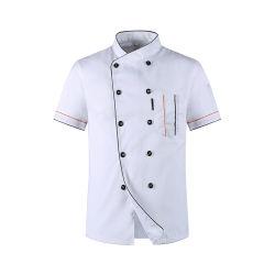 Chef-kok Jacket Wholesale Hoofd Chef Uniform Restaurant Hotel Cooking Clothes
