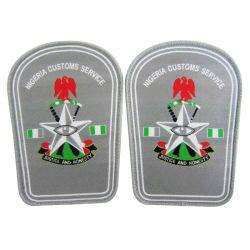 Polícia atacado de moda de alta qualidade bordada Ombro Militar Patches (145)