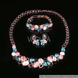 Moda VAGULA Opal Ligas Colar de jóias conjuntos (Hln16428)