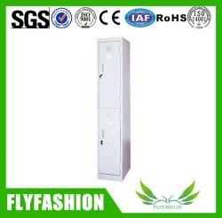 Bon marché deux durables porte armoire de rangement en acier (ST-050)