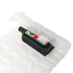 La pellicola gonfiabile materiale dell'ammortizzatore della bolla del sacchetto di aria dell'involucro biodegradabile per l'ammortizzatore impaccante deforma