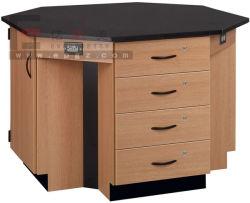 Laboratoire de haute qualité Laboratoire de physique de table Table & table de laboratoire de chimie