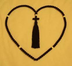 25 anni della fabbrica di corda ortodossa su ordinazione Komboskini Chiotki100 di preghiera annoda la collana autentica e benedetta Handmade delle corde di preghiera