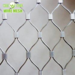 Alojamiento animales 7X19 Cable Metálico de acero inoxidable malla Zoo como el león de la jaula del tigre