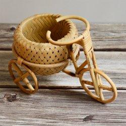 Tejido de bambú Basekt Ornamento para la decoración de la artesanía y el almacenamiento