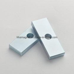 ネオジムの長方形の磁石、常置リニアモーターのために適したNdFeBの焼結させたブロック