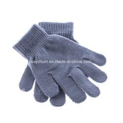 Детей Magic вещевым ящиком девочек мальчиков Kid Снимите эластичный трикотажные зимний теплый выбрать перчатки смешанной окраски вязаные рукавицы