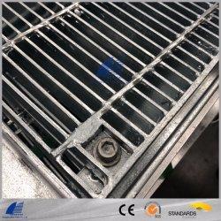 Galvanisierter Stahlstab, der für Einsteigeloch-Deckel, Treppen-Schritt, Fußboden-Abfluss zerreibt