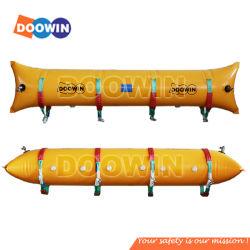 Marine Pontoon tubos de resgate subaquático de ar de elevação