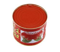 Conservas Toamto mayorista pegue la pasta de tomate 2200g