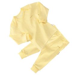 Желтый нижнее белье Sleepwear мягкие удобные малыша тканью