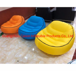 Portátil de aire inflables de nylon impermeable silla con abrebotellas