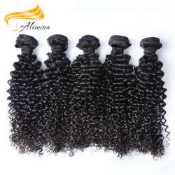 Le Tissage de cheveux ondulés chinois Raw Natural Remy Cheveux humains