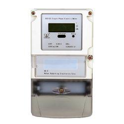 単一フェーズの電子計器KWHのメートルを反不正変更しなさい