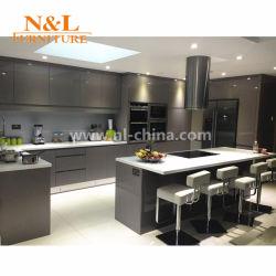 N&L современных модульных MDF MFC цельной древесины кухня для домашнего кабинета мебель